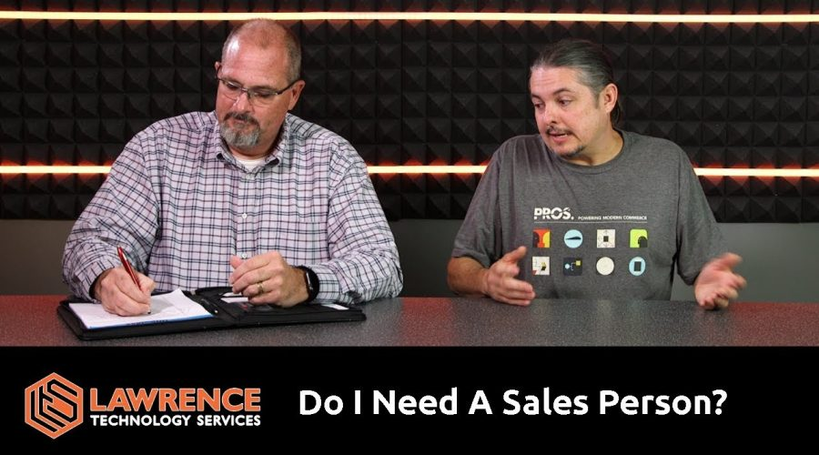"Brett & Tom Lawrence Discuss ""Do I Need To Hire A Sales Person?"""